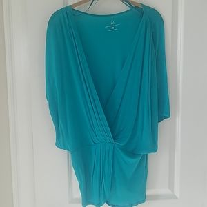 Turquoise top / blouse